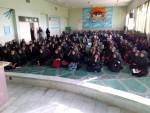 برگزاری جلسه آموزشی سواد رسانه ای و فضای مجازی در دبیرستان دوره اول شهید کاظمی خمینی شهر