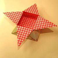 جعبه ي ستاره اي کاغذي