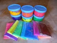 رنگ ها و شمع سازي
